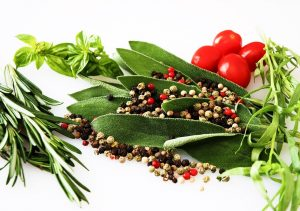 spices, herbs, food